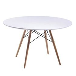 "WoodLeg Dining Table 36"" Wood Top"