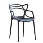 Brand Name Dining Chair in Black
