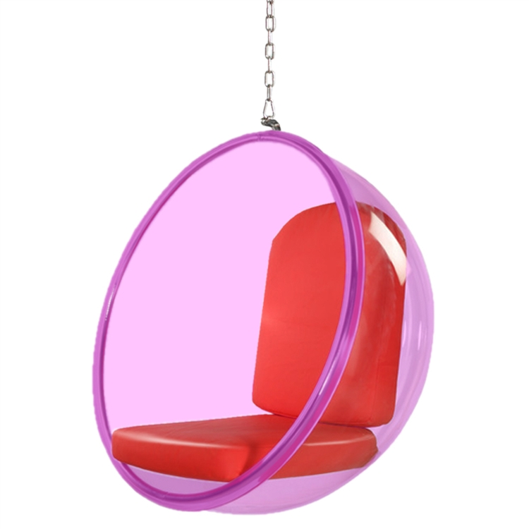 Bubble Hanging Chair Pink