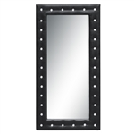 Tufted Mirror 36, Black