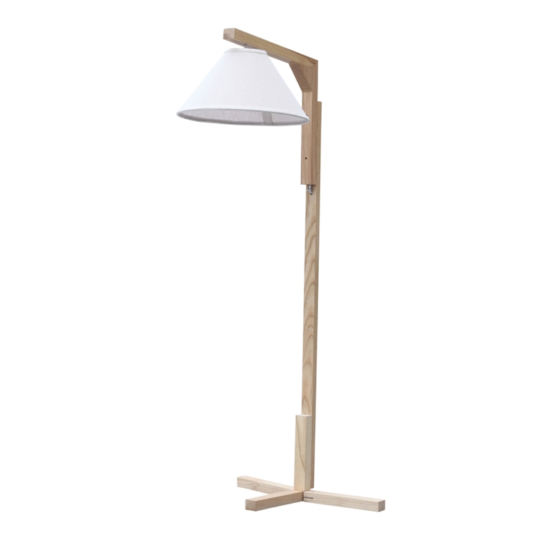 Spiral floor lamp for Spiral wood floor lamp