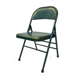 Turquoise Antique Folding Chair