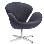 Swan Chair Wool Fabric