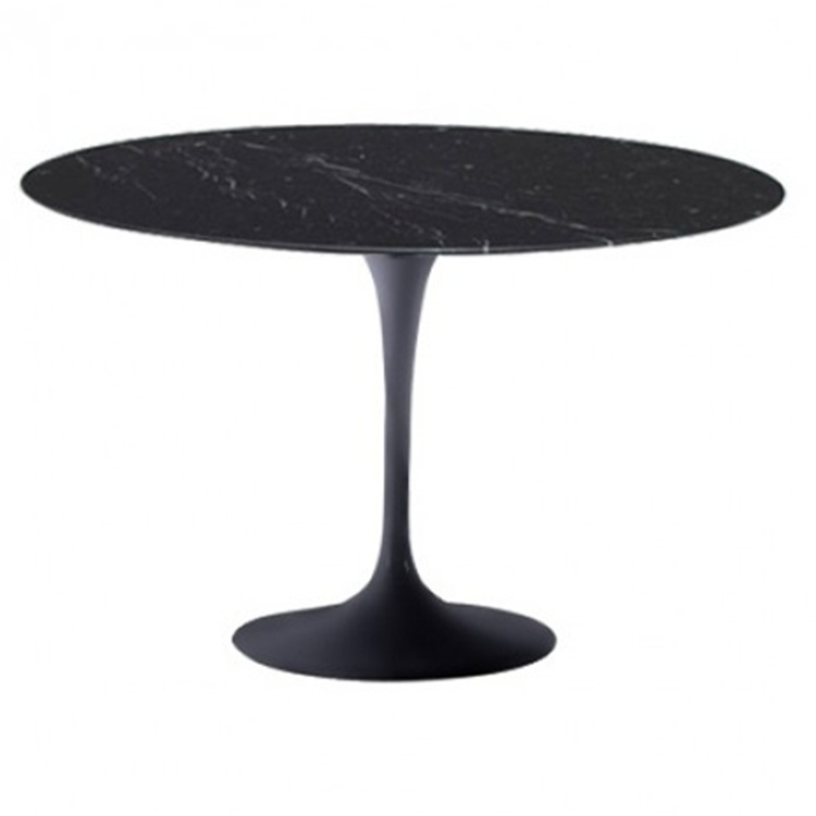 Flower Marble Table 48 Quot Black