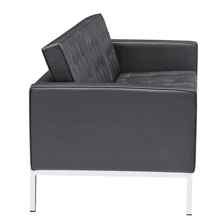 designer seating Button Sofa in Leather at Sears.com