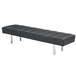 Classic Leather Bench 3 Seater