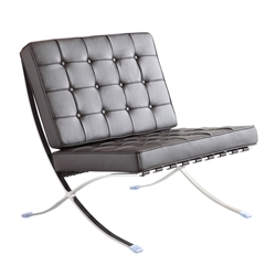 Pavilion Chair in Genuine Leather