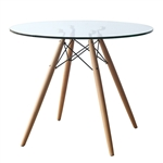 WoodLeg Dining Table 36""
