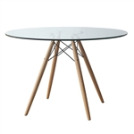 WoodLeg Dining Table 48""