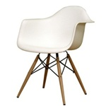 WoodLeg Dining Arm Chair