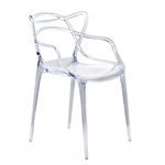 Brand Name Dining Chair Clear