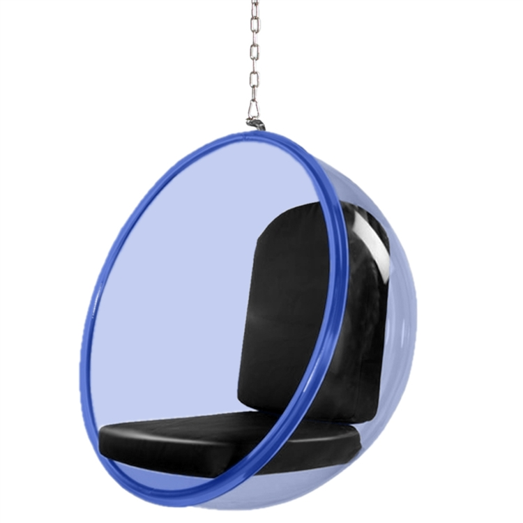 bubble hanging chair blue. Black Bedroom Furniture Sets. Home Design Ideas