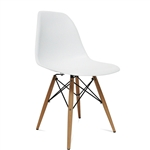 WoodLeg Dining Side Chair