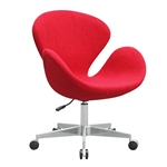 Swan Chair Fabric with Casters