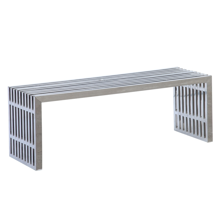 Zeta Stainless Steel Bench Long : FMI9278 2 from www.finemodimports.com size 750 x 750 jpeg 92kB